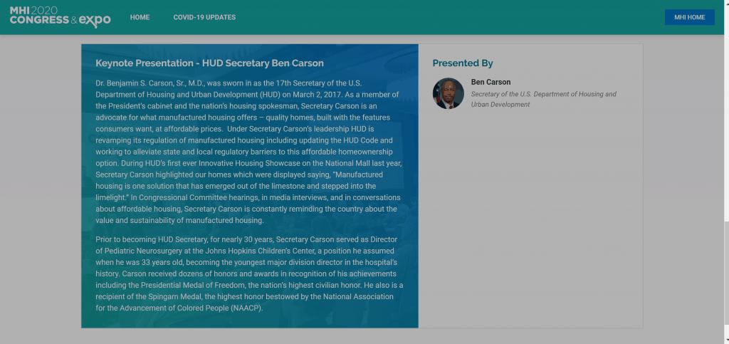 Dr. Ben Carson- Revenue Ascend