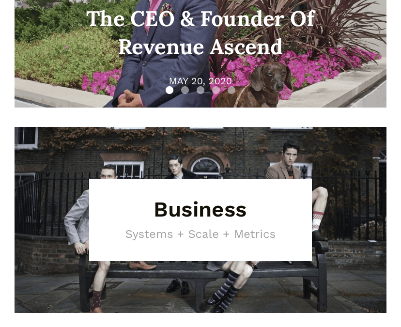 Revenue Ascend Founder featured in Successful hacks magazine.
